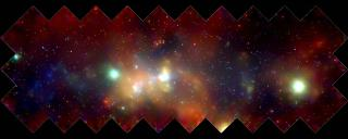 Chandra X-Ray image of galactic center